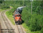 CN 4708 on the 539 East